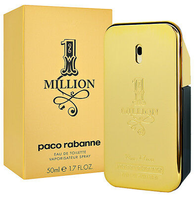 PACO RABANNE 1 MILLION EAU DE TOILETTE SPRAY 50ml NEU/OVP