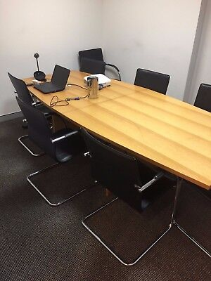 Conference Table + 8 Chairs