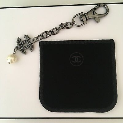 Chanel Logo Bag Charm Keychain Vip Gift Chanel Boutique New