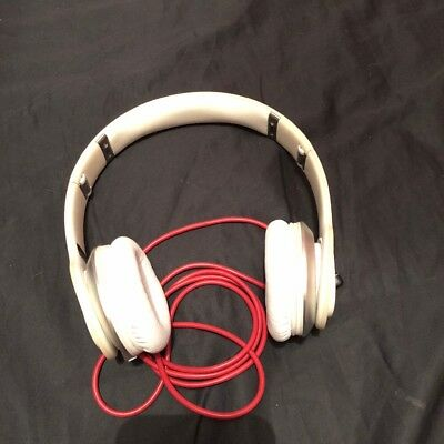 Beats by Dr. Dre Solo Over the Head Cable Headphones White