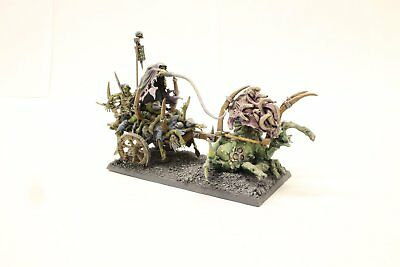 Pro Painted Warhammer AoS Vampire Counts Custom Corpse Cart