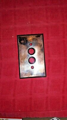 Great Vintage Shape Push Button Switch Cover