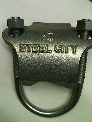 Steel City Rc-1-1/4 Right Angle Conduit Clamps Lot Of 8