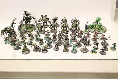 Pro Painted Warmachine Cryx Army Lot by Golden Demon Winner