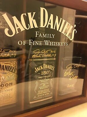 Jack Daniels 150th Anniversary Master Distiller Signed Bottle Jeff Arnett