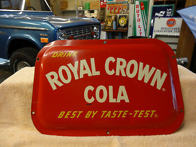 OLD ROYAL CROWN COLA BUBBLE SIGN SODA 1940s