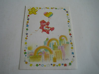 Vintage 1985 Panini Care Bear Sticker #54**american Greetings Corp**