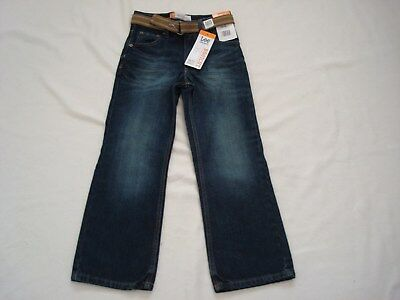 Boy Lee Belted Boot Cut Jeans Size 6 Regular Nwt