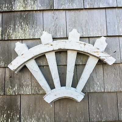 Antique Architectural Salvage Wooden Gingerbread Victorian Quarter Corbel