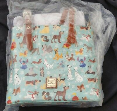 Dooney and Bourke Disney Dogs Tote NWT