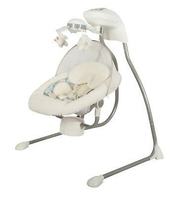 Childcare My Little Cloud Cradle Swing - White