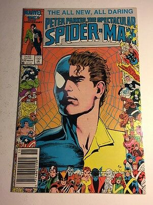 Marvel Comics Peter Parker The Spectacular Spider-Man #120 1986