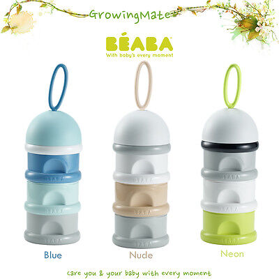 Beaba Stacked Formula Milk Container Baby food Snack box Storage Accessories