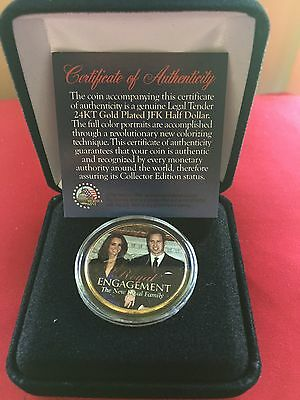 Royal Wedding United States of America Half Dollar - MINT in box William / Kate