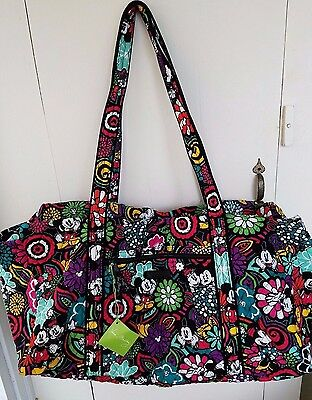 Vera Bradley - Disney  Large Duffel in Magical Blooms