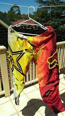 FOX ROCKSTAR  pants size34 & jersey large, post or local pickup.