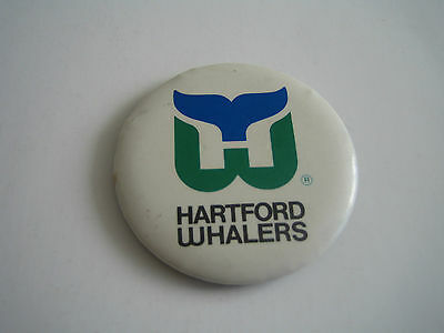 Vintage Hartford Whalers Button/pin***defunct***