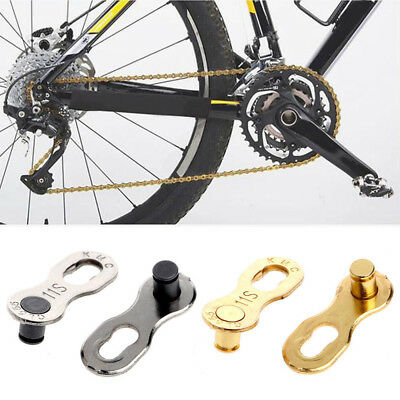 2Pcs Portable Bicycle Chain Master Link Joint Connector 11 Speed Quick Clip New