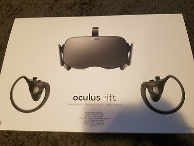 Oculus Rift + Touch VR Bundle w/ Washable VR Cover