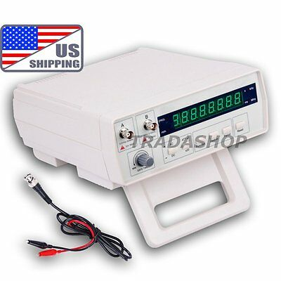 US VC3165 Professional Radio Frequency Counter RF Meter 0.01Hz~2.4GHz Tester