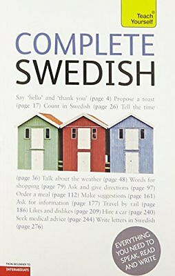 Complete Swedish Beginner to Intermediate Book and Audio Course: Learn to read,