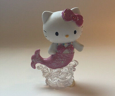 Hello Kitty Porcelain Mermaid Precious Moments Sanrio Collectible Hand Painted