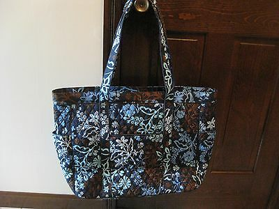 Nwt~New~Vera Bradley~Get Carried Away Tote~Overnight Bag~Carry On~Java Floral
