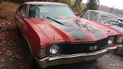1972 Chevrolet Chevelle SS True documented Chevelle SS, East TN Barn find only 39,363 Original miles! Real!
