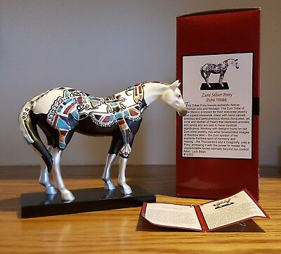 Trail of Painted Ponies ~ ZUNI SILVER PONY~ Retired ~ 1E/2781