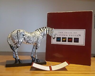 Trail of Painted Ponies ~ INCOGNITO ~ Zebra ~ Retired ~ 1E/4708
