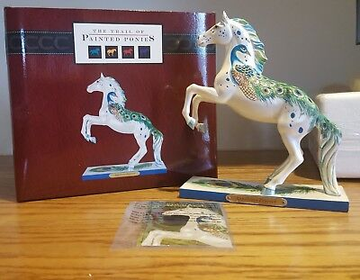 Trail of Painted Ponies ~ APPALOOSA PEACOCK ~ Retired ~ 1E/3680