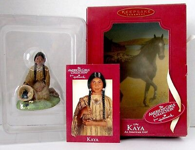 NEW Hallmark Keepsake Ornament 1764 AMERICAN GIRL KAYA Christmas