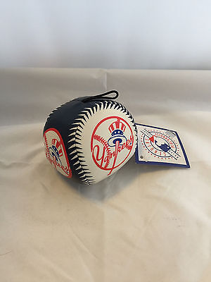 Mlb Baseball Sale - Official New York Yankees Stress Ball / Dog Toy - New W Tags