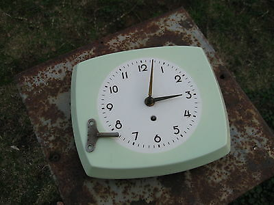 Vintage Art Deco Style Ceramic Kitchen Wall Clock – Made in Germany
