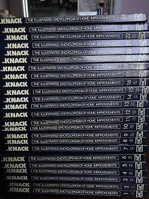 The Knack The Illustrated Encyclopaedia HOme Improvements Set Of 24 Books