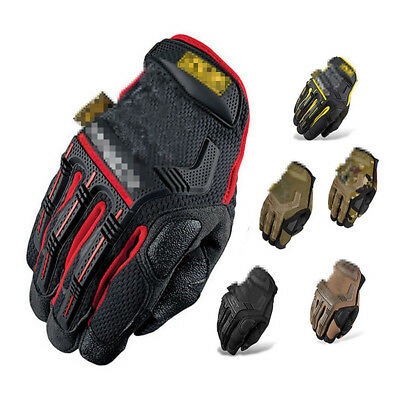 Utility Mechanics Heavy Duty Industrial Work Gloves Men Safety Impact Protection