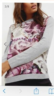 Ted Baker woven jumper in size 1