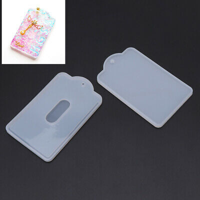 DIY Card Handmade Set Case Holder Silicone Mold Jewelry Making Resin Craft Tool