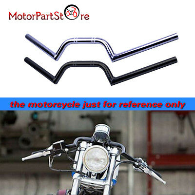 "Motorrad 7/8 ""22mm Drag Bar Lenker M Combo Kit Cruiser Chopper Cafe Racer"