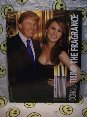 Best President Donald Trump The Fragrance Ad from 2004, with Melania, Apprentice