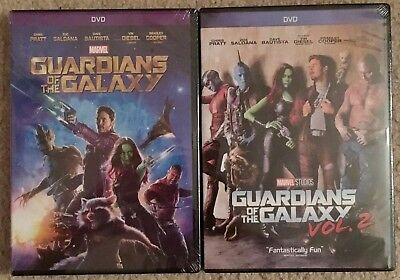 Guardians of the Galaxy 2-DVD Combo Pack Vol. 1 & 2 (Free First Class Shipping)