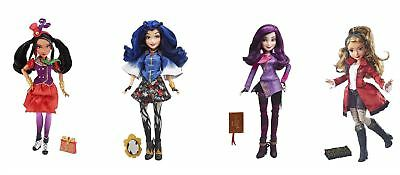 Disney Descendants Freddie, Mal, CJ, Evie Isle Of The Lost Doll Figures