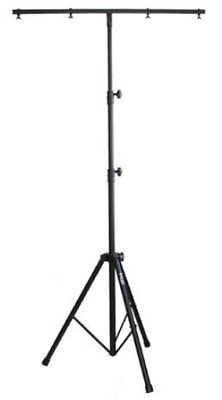 Audio2000s AST4421B Professional Lighting Stand with Dual Crossbars