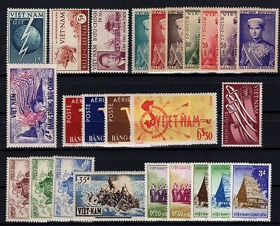 Zp48913 / South Vietnam / Lot 1952 - 1957 Neuf ** / Mnh