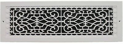 Details about Cold Air Return Vent Ventilation Grille 6 x 22 in White Wall