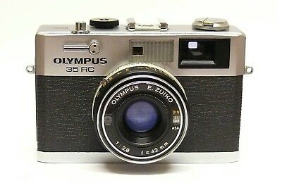 Olympus 35 Rc Rangefinder Camera (42Mm F2.8 E. Zuiko)  All In Good Working Order