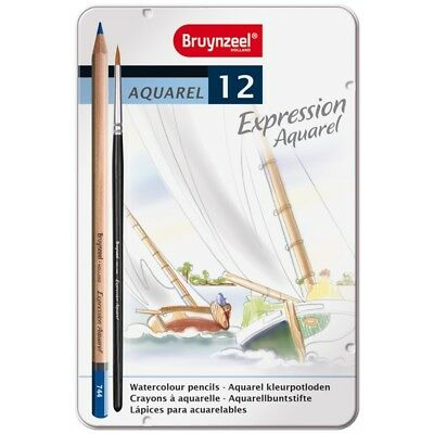 BRUYNZEEL / Sakura Expression Aquarel Pencils 12 Color Colour Holland