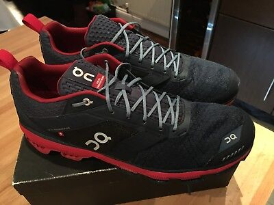 On Running Cloudsurfer Running Shoes Trainers Mens UK 12 Navy Barely Used