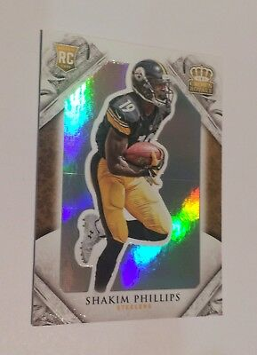 2015 Panini Crown Royale Steelers Shakim Phillips RC