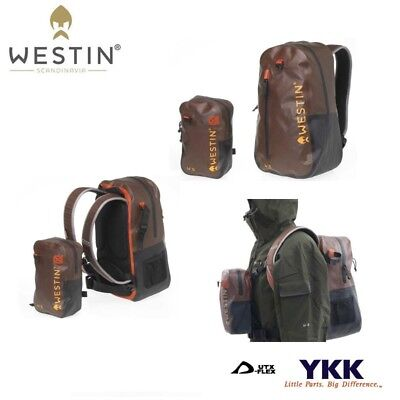 Westin, W6, Wading Backpack & Chest pack, Grizzly Brown/Black